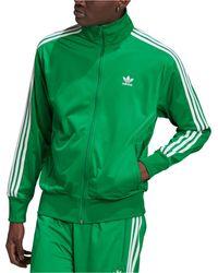 adidas Firebird Track Jacket - Green