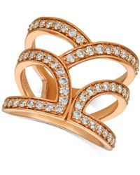 6556ca07d Le Vian - ® Nude Diamondstm Abstract Openwork Statement Ring (1 Ct. T.w.)
