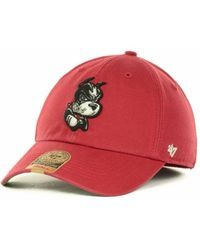 47 Brand Boston Terriers Franchise Cap - Red