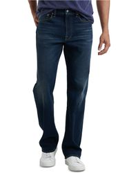 Lucky Brand 181 Relaxed Straight Fit Stretch Coolmax® Temperature-regulating Jeans - Blue
