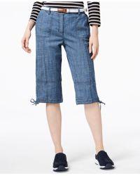 Karen Scott - Petite Tie-hem Skimmers, Created For Macy's - Lyst