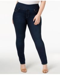 Lee Jeans - Plus Size Pull-on Skinny Jeans - Lyst