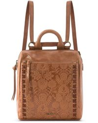 The Sak Loyola Convertible Small Leather Backpack - Multicolour