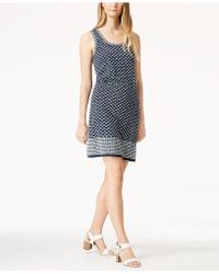 Maison Jules - Floral-print Shift Dress, Created For Macy's - Lyst