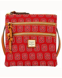 Dooney & Bourke - North Carolina State Wolfpack Triple-zip Crossbody Bag - Lyst