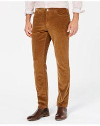 Michael Kors - Slim-fit Corduroy Trousers - Lyst