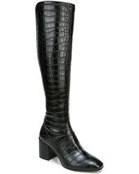 Franco Sarto Tribute High Shaft Boots - Black