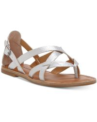 Lucky Brand - Ainsley Flat Sandals - Lyst
