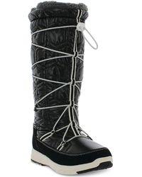 Khombu - Slalom V Lace-up Cold-weather Boots - Lyst