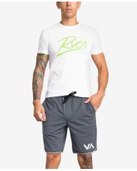 """RVCA - Va Ii 20"""" Active Shorts - Lyst"""