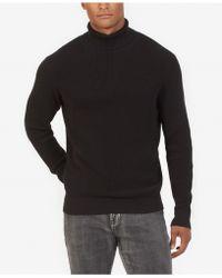 Kenneth Cole Investment Turtleneck Sweater - Black