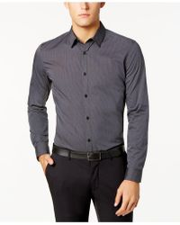 CALVIN KLEIN 205W39NYC - Infinite Cool Thin Stripe Shirt - Lyst