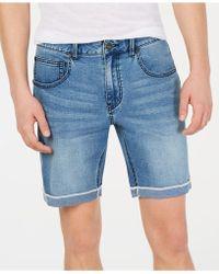 "INC International Concepts - Cuffed Denim 7"" Shorts, Created For Macy's - Lyst"