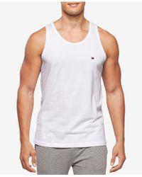 Tommy Hilfiger Modern Essentials Cotton Tank Top - White