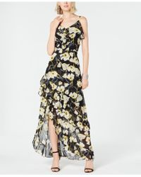 INC International Concepts - I.n.c. Petite Floral-print High-low Maxi Dress, Created For Macy's - Lyst