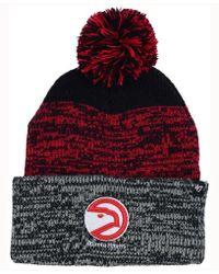 47 Brand - Static Pom Knit Hat - Lyst