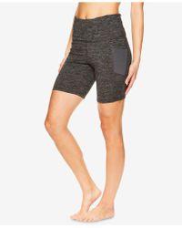 Gaiam - High-rise Yoga Shorts - Lyst