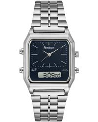 Armitron Analog-digital Stainless Steel Bracelet Watch 32.5mm - Metallic