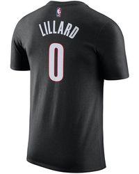 Nike Name & Number Player T-shirt - Black
