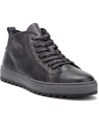 Vintage Foundry Co. Newman Mid-top Sneaker - Black