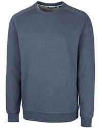 Cutter & Buck Saturday Crew Neck Sweatshirt - Blue