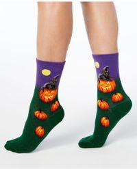 Hot Sox - Halloween Cat Witch Socks - Lyst