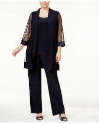 R & M Richards - Plus Size Embellished 3-pc. Set - Lyst