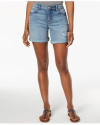 Style & Co. - Rolled Denim Shorts, Created For Macy's - Lyst