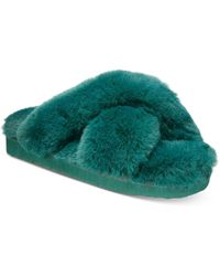 INC International Concepts Yayla Slide-on Slippers, Created For Macy's - Green