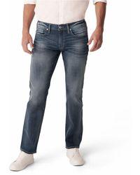 Silver Jeans Co. Straight Leg Jeans - Blue
