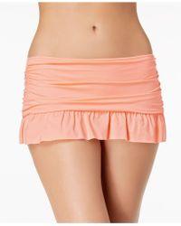 Kenneth Cole - Ready To Ruffle Swim Skirt - Lyst