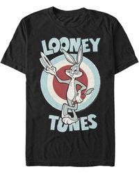 Fifth Sun Bugs Bunny Target Short Sleeve T-shirt - Black