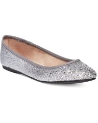Style & Co. Angelynn Flats, Created For Macy's - Metallic