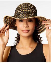 Nine West - Crochet Floppy Hat - Lyst