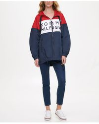 Tommy Hilfiger - Colorblocked Windbreaker Jacket, Created For Macy's - Lyst