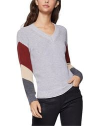 BCBGeneration - Colorblocked-sleeve Sweater - Lyst