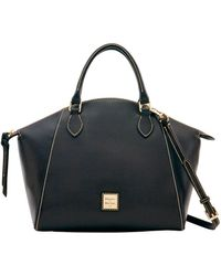 Dooney & Bourke Sydney Saffiano Leather Satchel - Multicolour