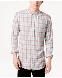 Ezekiel - Dale Plaid Shirt - Lyst