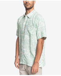 Quiksilver - He Enalu Short Sleeve Shirt - Lyst