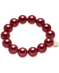 Charter Club - Imitation Pearl (14mm) Stretch Bracelet, Created For Macy's - Lyst