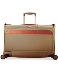 """Hartmann Ratio Classic Deluxe 21"""" Carry-on Glider Garment Bag - Brown"""