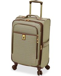 "London Fog - Oxford Hyperlight 21"" Expandable Spinner Carry-on Suitcase - Lyst"