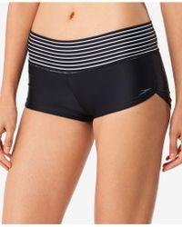 Speedo - Striped Swim Shorts - Lyst