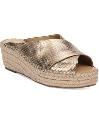 Franco Sarto - Polina Espadrille Platform Wedge Sandals, Created For Macy's - Lyst