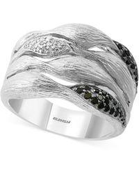 Effy Effy® Diamond Multi-row Statement Ring (1/4 Ct. T.w.) In Sterling Silver - Metallic