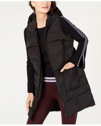 Alfani Hooded Puffer Vest, Created For Macy's - Black