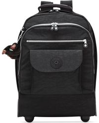 Kipling Sanaa Large Rolling Backpack - Black