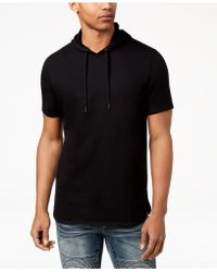 INC International Concepts - Remix Short-sleeve Hoodie, Created For Macy's - Lyst