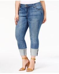 Kut From The Kloth - Plus Size Cameron Straight-leg Jeans - Lyst