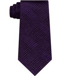 Michael Kors - Men's Printed Check Silk Tie - Lyst